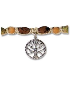Soul Flower - Tree of Life Hemp Necklace - $25.00  #everydaybliss