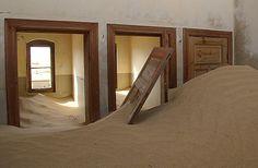 Kolmanskop, Namibia | Ghost Town | Abandoned Diamond Mining Town