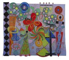 MIXED MEDIA LARGE - Geraldine Neuwirth Art