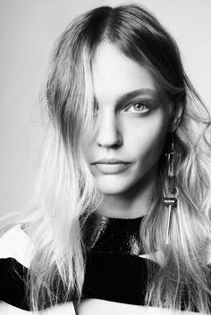 Model Sasha Pivovarova; Photographed by Glen Luchford; Fashion Editor Alastair McKimm; Hair Duffy; Makeup Sally Branka.