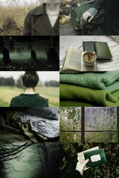 skcgsra: green autumn aesthetic To me this feels like Marguerite...