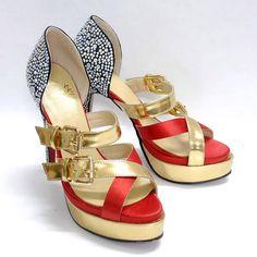 Christian Louboutin Sandals Ambertina Bejeweled