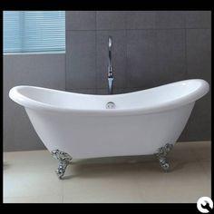 freistehende luxus badewanne jugendstil sicilia weiß/altgold, Hause ideen