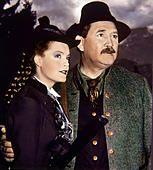 ACK43615.jpg SISSI - DIE JUNGE KAISERIN /  Austria 1956 / Ernst Marischka Sissi (ROMY SCHNEIDER) und ihr Vater, - Stock Photo