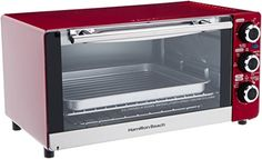 Hamilton Beach 6slice Convection Toasterbroiler Oven Candy Apple Red Be Sure To Check Out This Awesome Product Note I Toaster Oven Red Toaster Broiler Oven