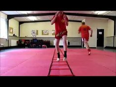LADDER DRILLS FOR MMA, MUAY THAI, ETC! - YouTube