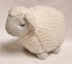 "LAMBIE LAMB Bath and Body Works Plush SHEEP Cream with Gray Face and Feet 10""  #BathBodyWorks"