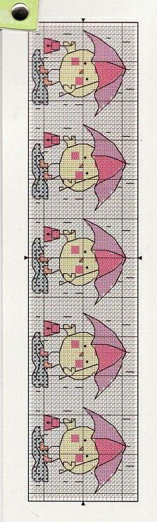 Pollito paraguas