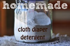 Elisa Loves: Homemade Cloth Diaper & Laundry Detergent