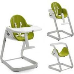 CHICCO I-SIT HIGH CHAIR GREEN ONLY 2 LEFT