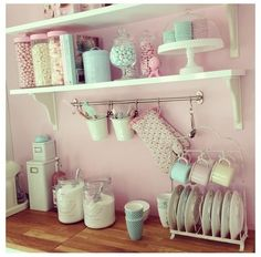 Pretty little country kitchen