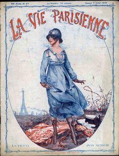 Chéri Hérouard (1881 – 1961). La Vie Parisienne, 6 Juillet 1918. [Pinned 20-vii-2015]