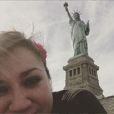 Statue of Liberty selfie!