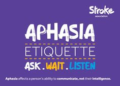 Aphasia (sometimes known as dysphasia) is a condition that affects the brain and leads to the inability or impaired ability to both understand and produce speech due to progressive or sudden brain …