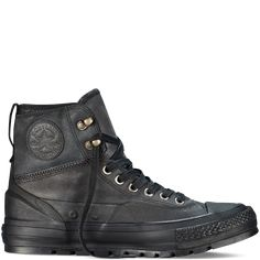Chuck Taylor All Star Tekoa Boot Black black (for snow). Pinning for one day if needed.