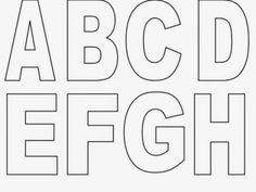 moldes do alfabeto letras maiusculas para imprimir 410x308                                                                                                                                                                                 Mais