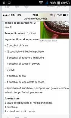 Muffin microonde