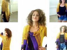 Sunny Cardi % Crochet patterns Sunny Cardi ByKaterina Free Pattern with charts, diagram and video tutorial. Crochet Baby Cardigan, Poncho Knitting Patterns, Crochet Cardigan Pattern, Crochet Baby Clothes, Crochet Jacket, Crochet Patterns, Crochet Toddler, Crochet Girls, Crochet For Kids