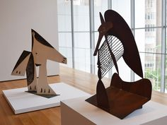 """The """"Picasso Sculpture"""" show at the Museum of Modern Art in New York City is one of the first exhibitions in nearly 50 years to exhibit the three-dimensional work of Pablo Picasso in the US. The ar…"""
