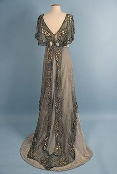 Jacques Doucet (French, 1871?1929)  Evening Gown (back), c. 1911