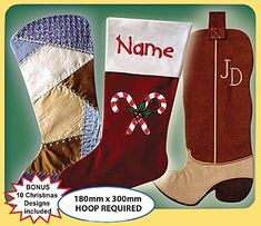 western/cowboy christmas stocking | stocking boots on Etsy, a global handmade and vintage marketplace.