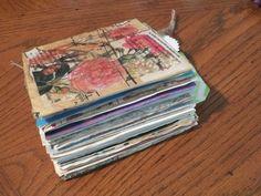 """5.5"""" x 5.5"""" Floral Junk Journal"""
