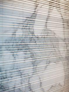 A Scraped Marble Backsplash | Design by Nicole Hollis | Photo by Mark Adams