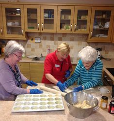 Baking for fun at Birch Green - Birch Green Care Home Skelmersdale