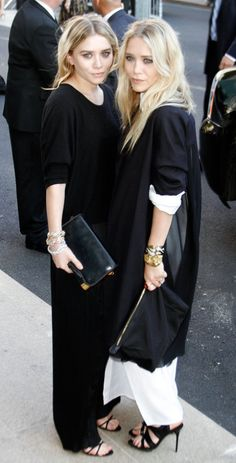 Ashley Olsen and Mary Kate Olsen