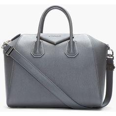8fc424207bf3 GIVENCHY Grey Textured Leather Antigona Duffle One day... Retikül Táska,  Cipők,