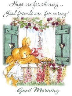 Good morning Hugs for Friday Good Morning Picture, Good Morning Friends, Good Morning Good Night, Morning Pictures, Good Morning Wishes, Good Morning Quotes, Friday Pictures, Good Night Blessings, Morning Blessings