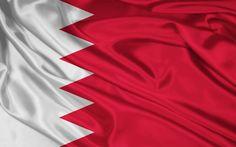 Lataa kuva Lipun Bahrain, Kingdom of Bahrain, Aasiassa, silkki lippu Bahrain News, Happy National Day, Kingdom Of Bahrain, Half Mast, Nuclear Test, Wallpaper Space, Flags Of The World, Cairo, Asia