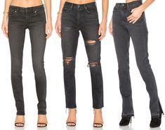 Faded Black Denim for Fall - Jeans 6