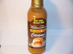 Crazy Food Dude Review: Walden Farms Caramel Syrup