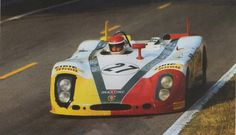 Porsche 908/2 at the 24 Hours of Le Mans 1970