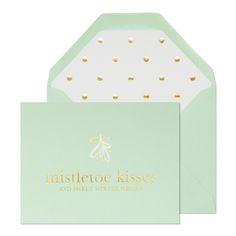 Mistletoe kisses from Sugar Paper