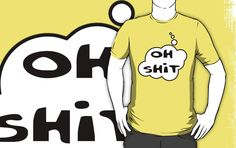 OH SH!T T-shirt by Bubble-Tees.com by Bubble-Tees