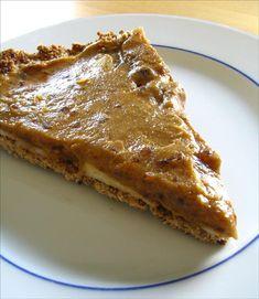 tarte érable et pommes crue et végétalienne - raw, vegan, maple and apple pie