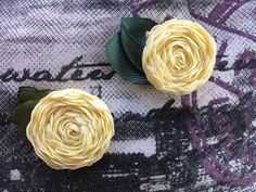 How to Make a Ribbon Flower... - YouTube