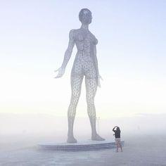 Burning Man 2015. White Out.