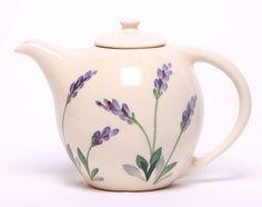 Ceramic Teapot - Lavender