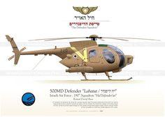 "500MD ""Lahatut / יוז דיפנדר"" ✡ IAF 190 Tayeset VB-04"