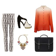 Fashion Selection n°6 : Top Shop shirt, H&M trouser, Marni shoes, J Crew neckless, Mulberry bag http://bewaremag.com/2012/09/23/selection-mode6/
