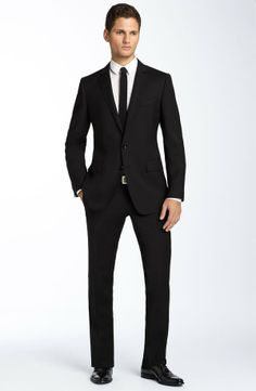 Black suits professional men in