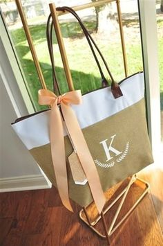 Corporate Gifts With Initials. Work Tote Bag For Women Monogrammed. Gifts For Women. Gifts for Staff. Bridesmaid Tote Bags, Bridesmaid Gifts, Bridesmaids, Personalized Ribbon, Personalized Mugs, Gifts For Wedding Party, Wedding Ideas, Wedding Stuff, Monogram Tote Bags
