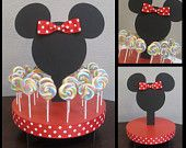 Minnie Mouse Inspired Cake Pop or Lollipop Stand