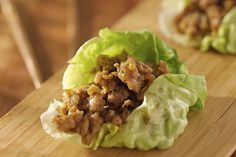 Hungry Girl's Day-Off Diet Lettuce-Wrapped Turkey Burger With Southwestern Black Beans : Enjoy a burger guilt-free with this recipe.