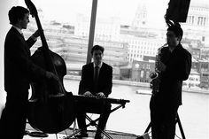 Enigma Jazz in the restaurant at Tate Modern