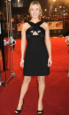 Kate Winslet's little black dress