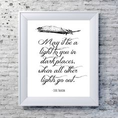 Hey, I found this really awesome Etsy listing at https://www.etsy.com/listing/125948143/the-lord-of-the-rings-print-literary